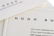 Hugo Boss Invitation